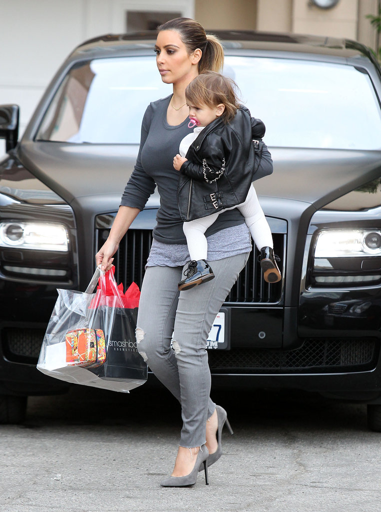 Kim Kardashian and Penelope Disick did a bit of shopping together.
