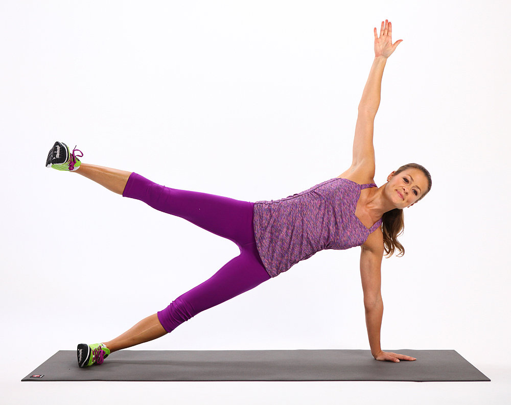 plank workout the two week plank challenge popsugar