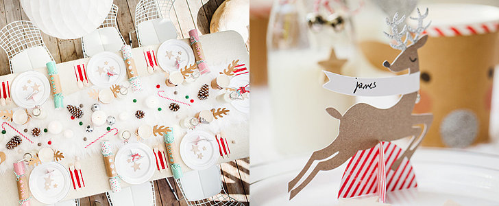 This Modern White Christmas Party Is Total Kid Coolness