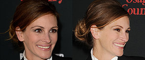 Julia Roberts's Messy Bun You Can Do in 5 Minutes or Less