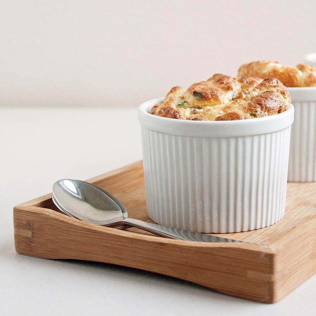 Intermediate: Ham and Cheese Soufflé