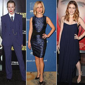 Celebrities Wearing Midnight Blue