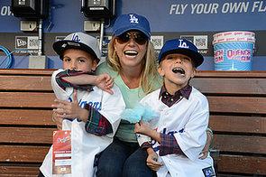 Britney-Spears-brought-her-boys-Sean-Jayden-Dodgers-game