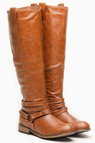 Bamboo Chestnut Parksville Rider Boot