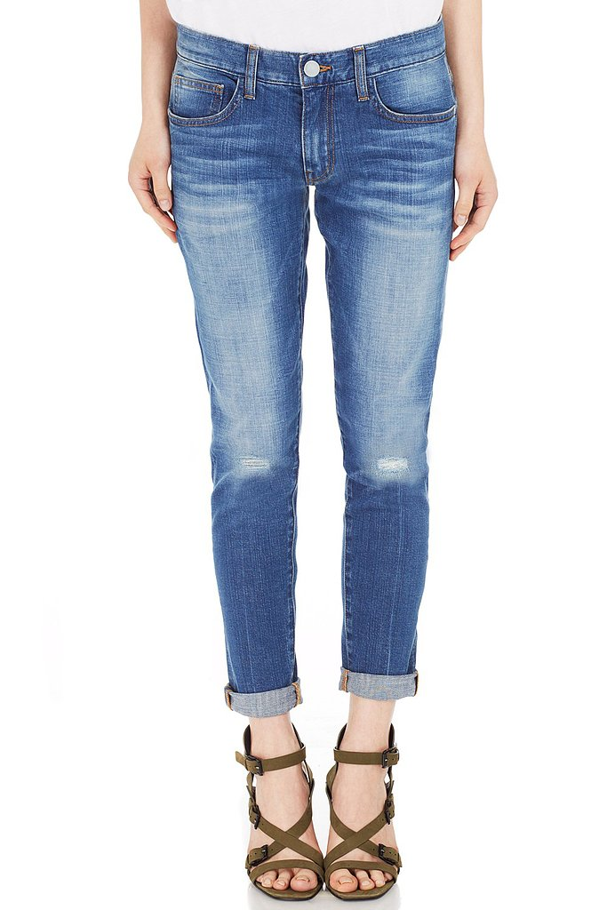 After years of rebuffing boyfriend jeans, I am finally ready to succumb to the trend. With a clean silhouette, delicate distressing, and a direct donation to the No Kid Hungry campaign, these Rebecca Minkoff exclusives ($118) will make my transition from exclusively skinny to denim chameleon seamless and selfless. — MV