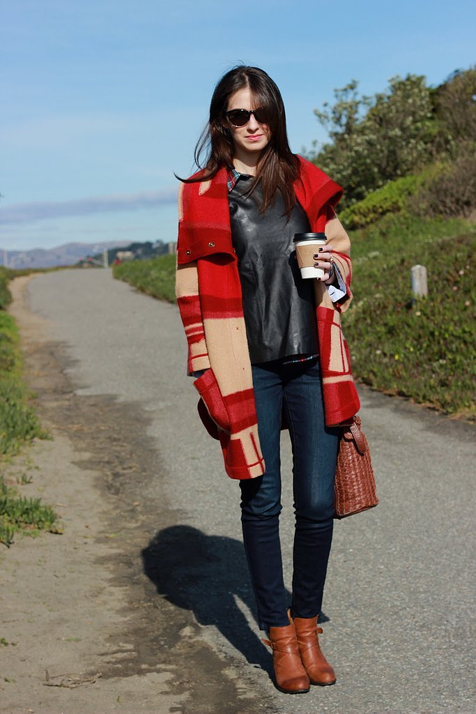 Congrats, PostGradChic! Blanket coats are a girl's best friend.