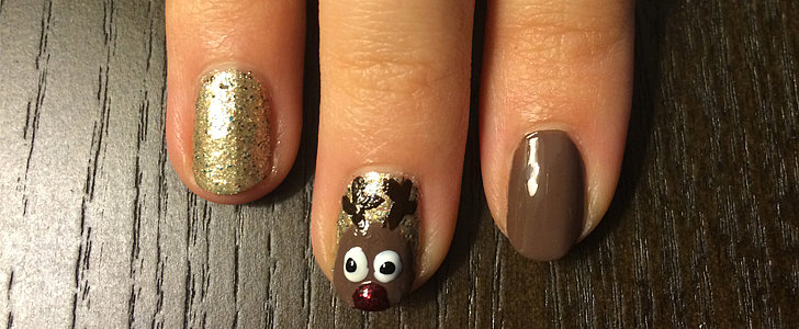 All the Other Reindeer Will Be Jealous of This Nail Art