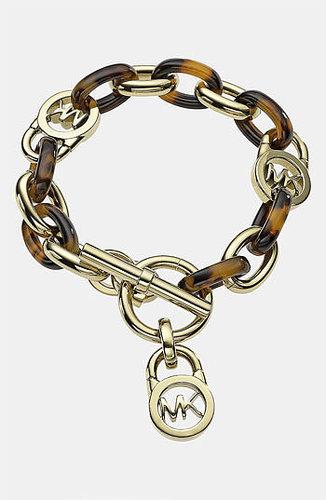 MICHAEL Michael Kors Michael Kors 'Heritage Link' Toggle Bracelet