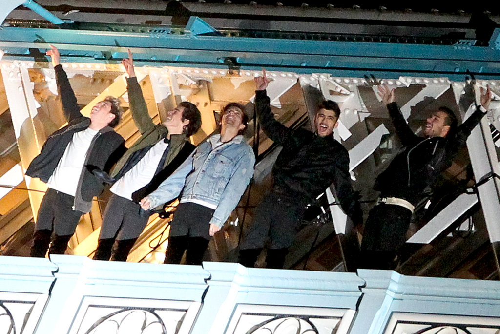 One Direction Films Music Video For Midnight Memories | POPSUGAR Celebrity