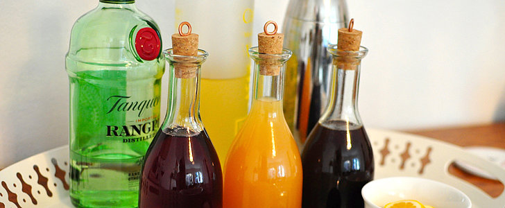 DIY Cocktail Mixers For a No-Fuss New Year's Party