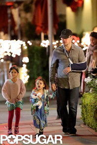 Matt-Damon-went-dinner-LA-Brentwood-neighborhood