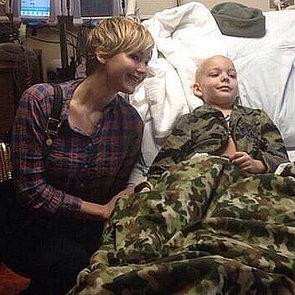 Jennifer Lawrence at Children's Hospital 2013