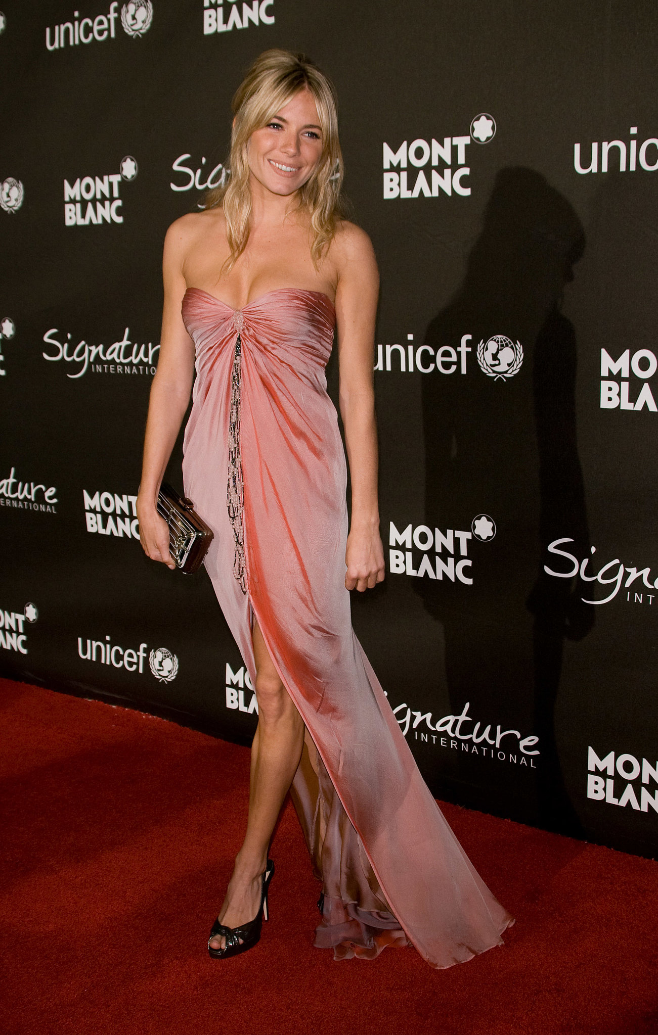 The British beauty was positively glowing at a charity gala in 2009.
