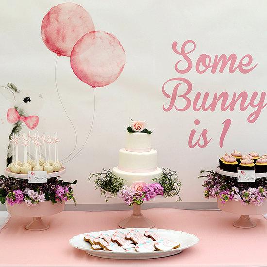 Bunny First Birthday Party Ideas
