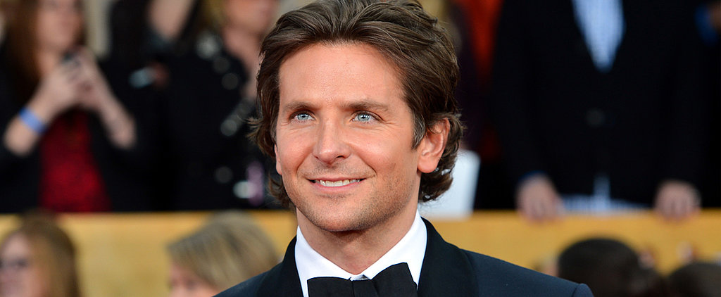 Today, Let Bradley Cooper's Baby Blues Wash Over You