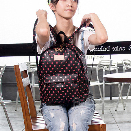 [grhmf22000108]Cute Dot Watermelon Backpack