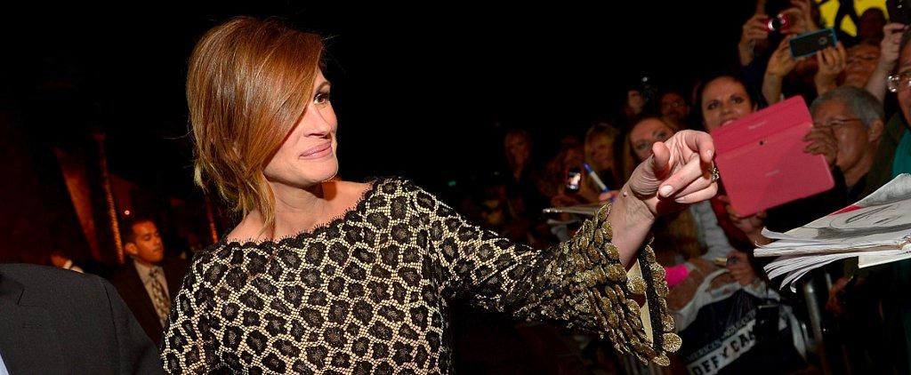 Julia Roberts's Bangs Are Paparazzi-Proof