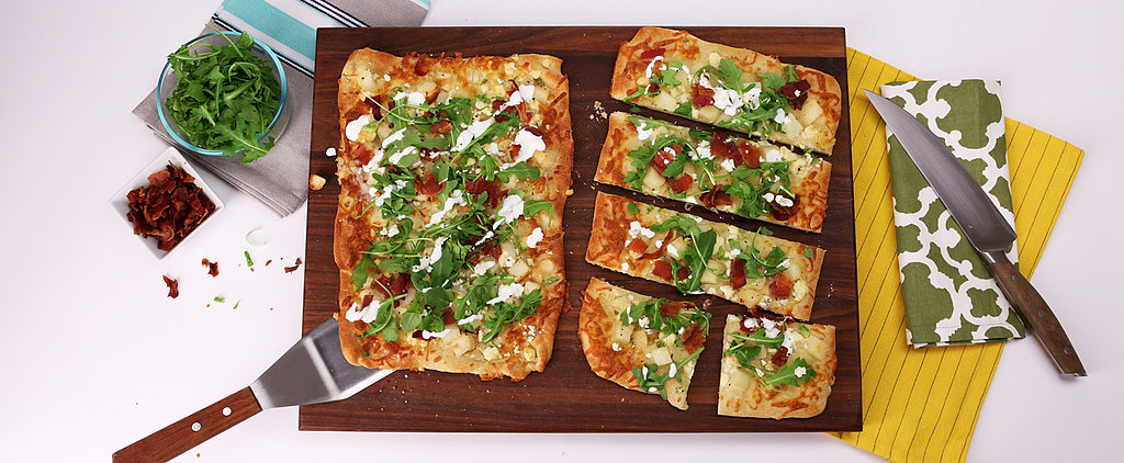 Aida Mollenkamp's Game-Day-Ready Bacon and Arugula Flatbread