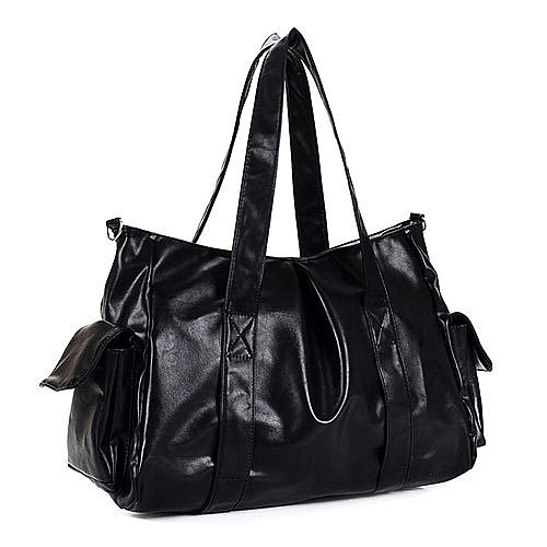 Image of [grxjy520142]Pure Color Handbag Shoulder Bag