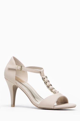 Bamboo Open Toe T-Strap Jenna Heel @ Cicihot Heel Shoes online store sales:Stiletto Heel Shoes,High Heel Pumps,Womens High Heel