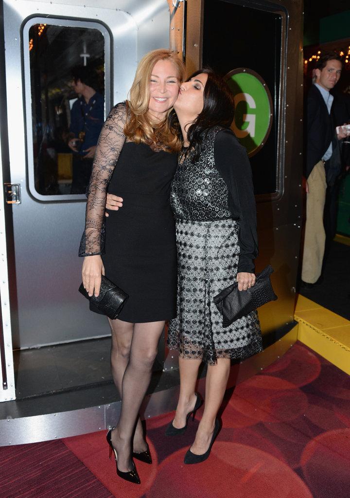 Executive producer Jenni Konner kissed season-three guest star Jennifer Westfeldt.