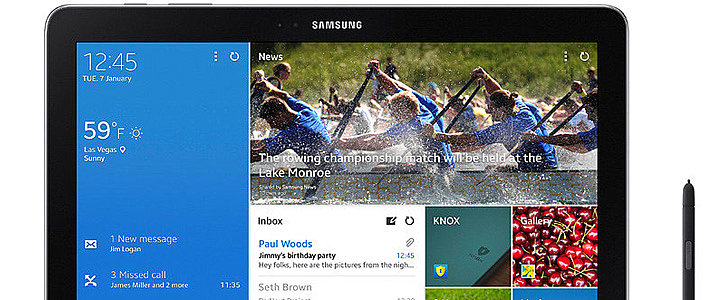 Samsung's Galaxy Note and Tab Go Pro (as in Productive)