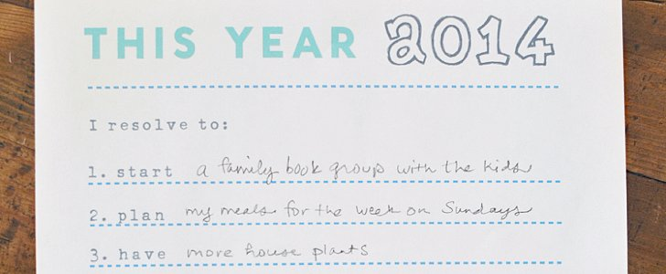 9 Free Resolutions Printables For the Determined