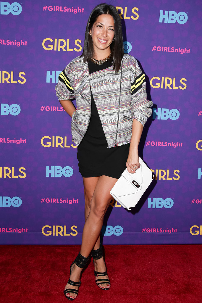 Rebecca Minkoff at the Girls premiere.