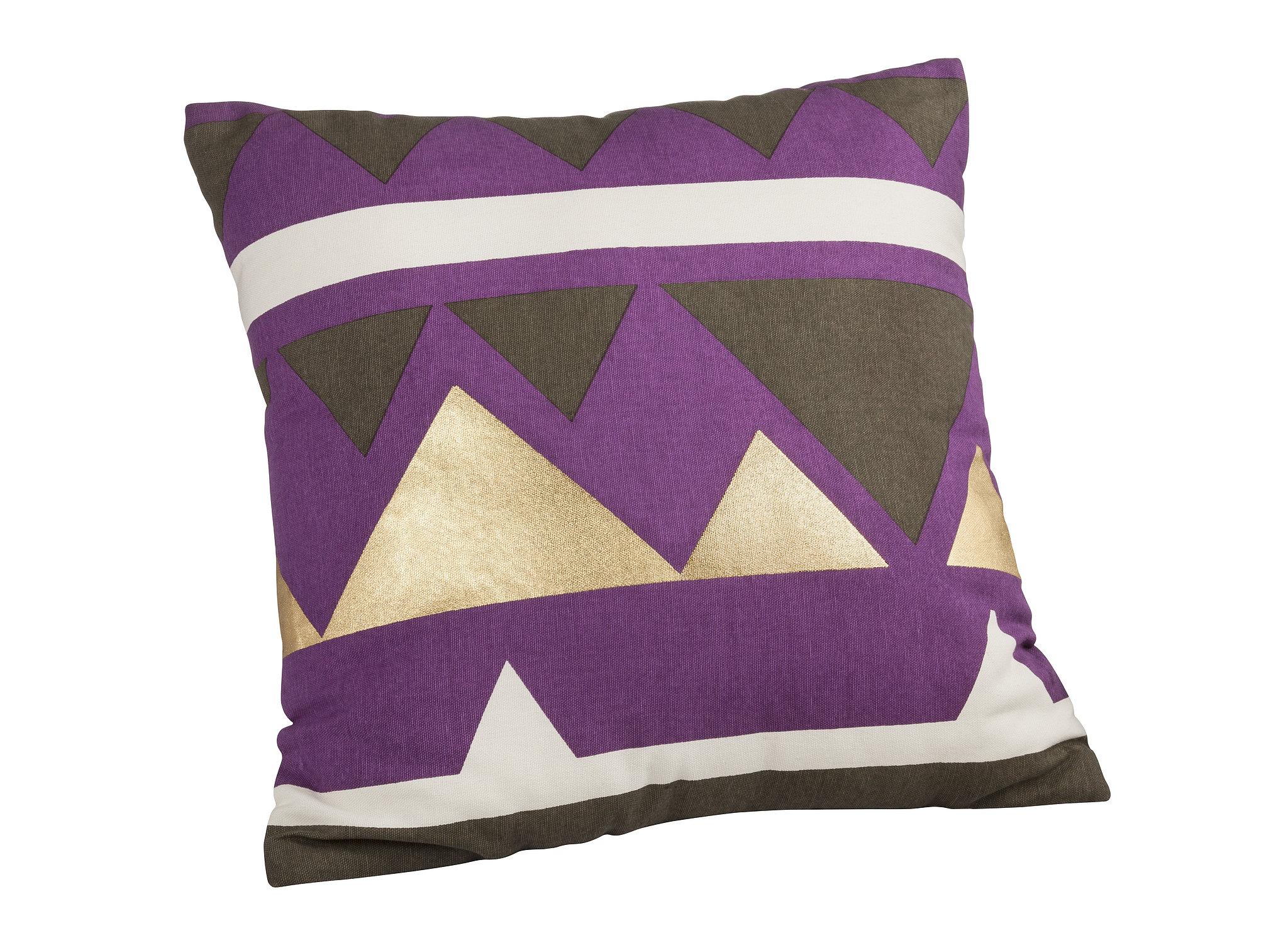 Metallic Accent Pillow ($25)