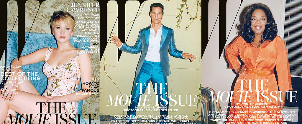 Jennifer, Matthew and Oprah Share Secrets With W Magazine