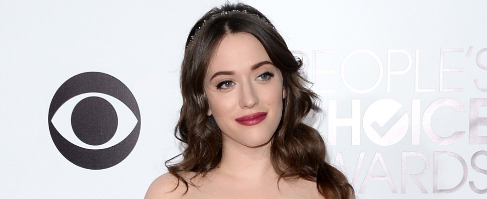 Kat Dennings Holds the Crown For Best Hair Accessory