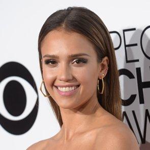 Jessica Alba Hair and Makeup at People's Choice Awards 2014