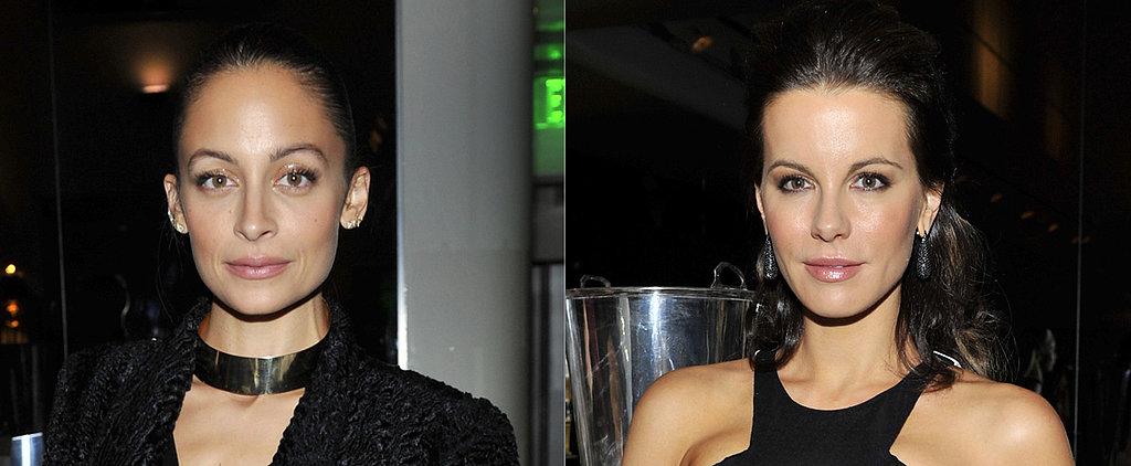 Did Nicole and Kate Coordinate Makeup Last Night?