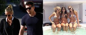 Inside Lara Bingle and Sam Worthington's Sexy First Week of 2014