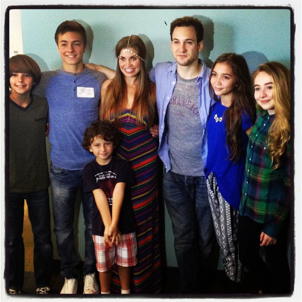 Rowan Blanchard shared a photo of her new onscreen crew. Source: Twitter user rowblanchard