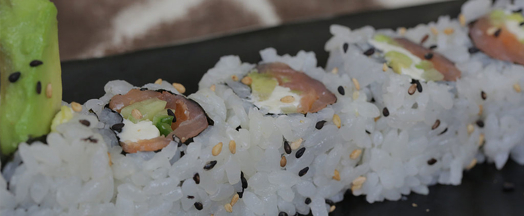Sushi For Newbies: A Smoked Salmon Roll