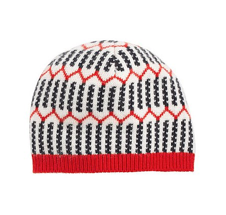 J.Crew Striped Beanie