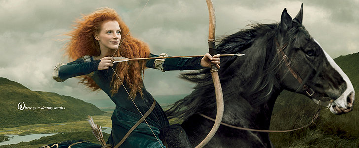 Jessica Chastain, Taylor Swift, and More Celebrities Become Disney Princesses