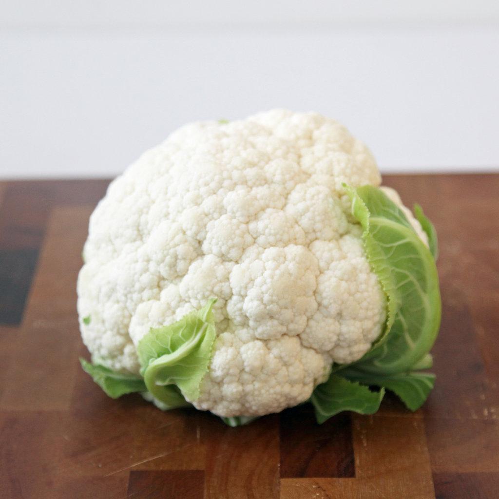 how to cut up cauliflower head