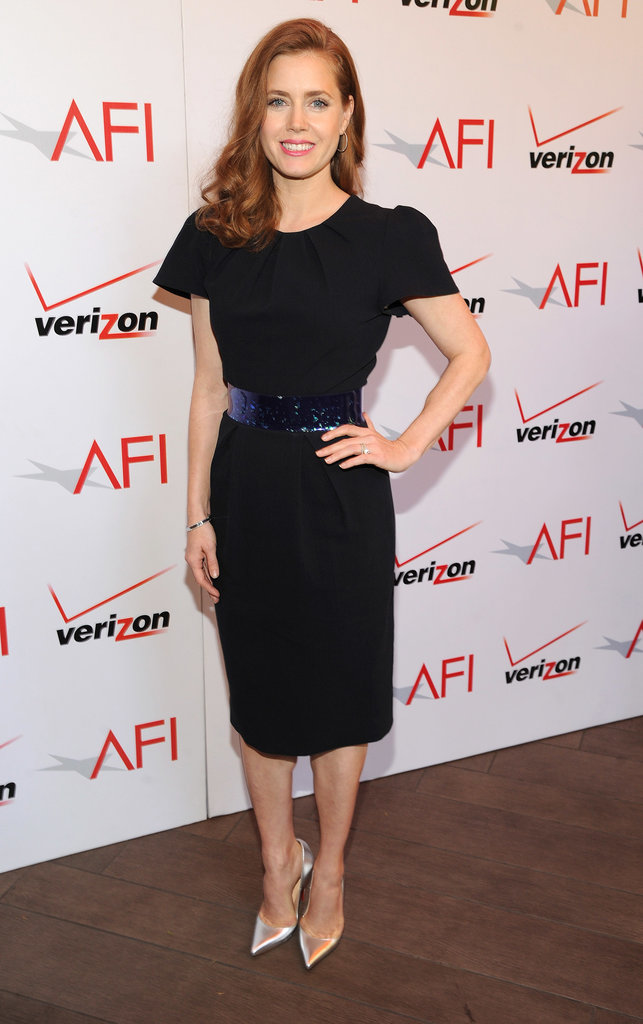 Amy Adams attending the 2014 AFI Awards Luncheon held at