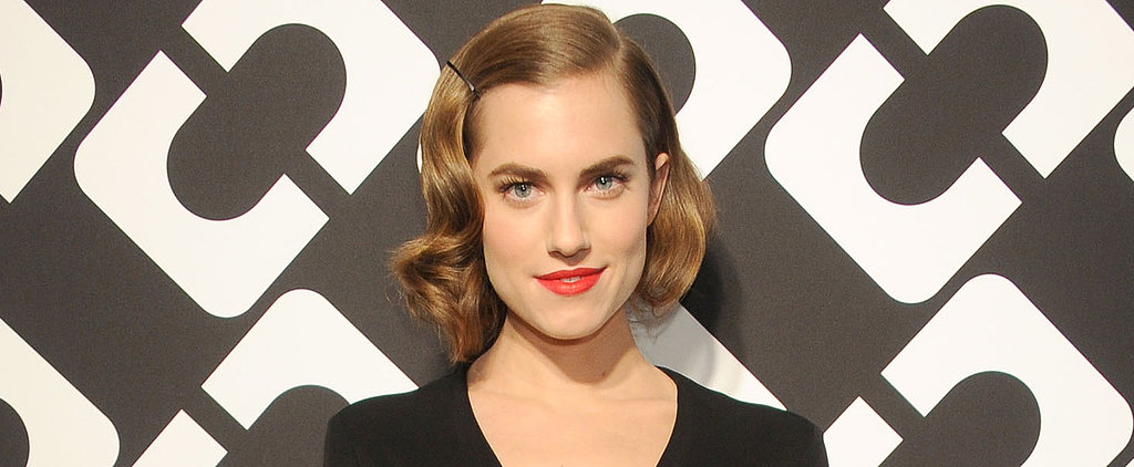 Allison Williams Cheats on Her Typical Blowout: Like It?