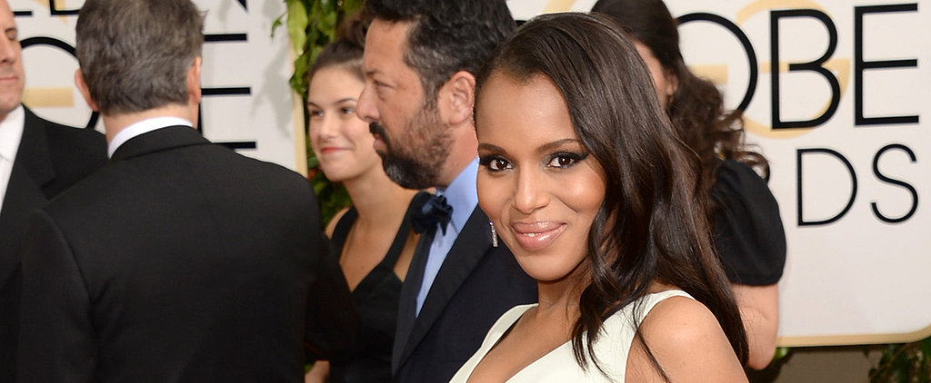 Is Kerry Washington Actually Glowing at the Golden Globes?