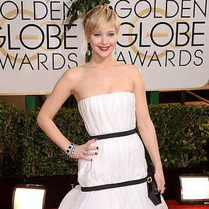 Live 2014 Golden Globes Jennifer Lawrence