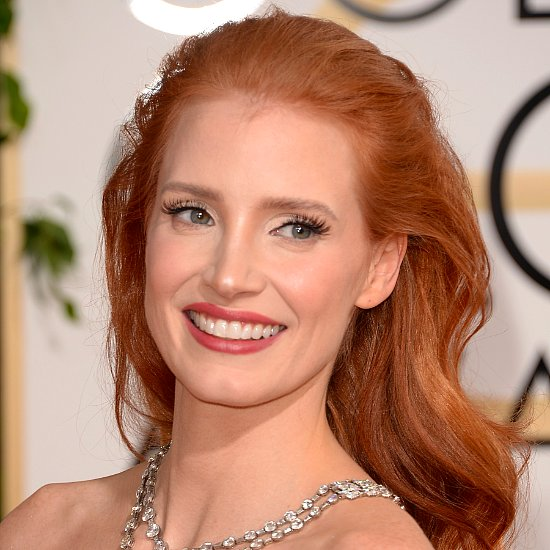 Jessica Chastain at the 2014 Golden Globe Awards Pictures