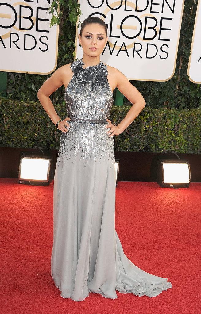 Mila Kunis in Gucci Première