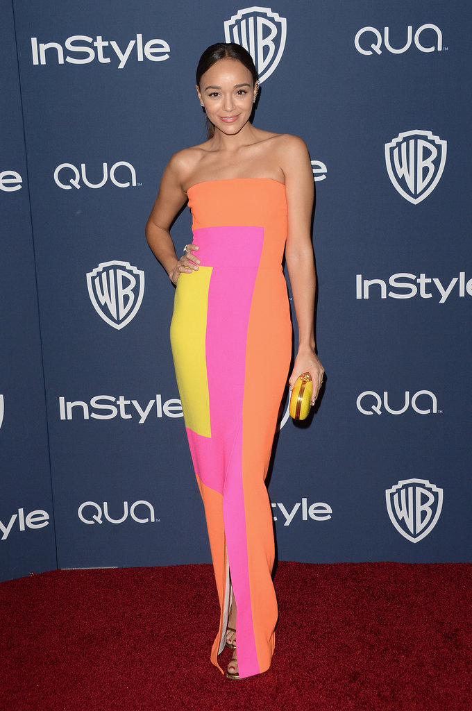 Ashley Madekwe at the InStyle Golden Globes Afterparty