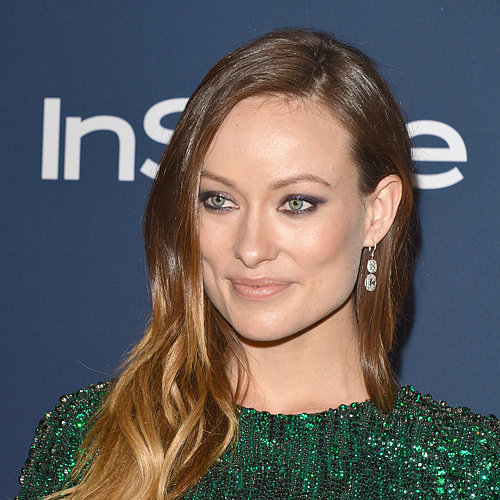 Olivia Wilde's Makeup at Golden Globes 2014