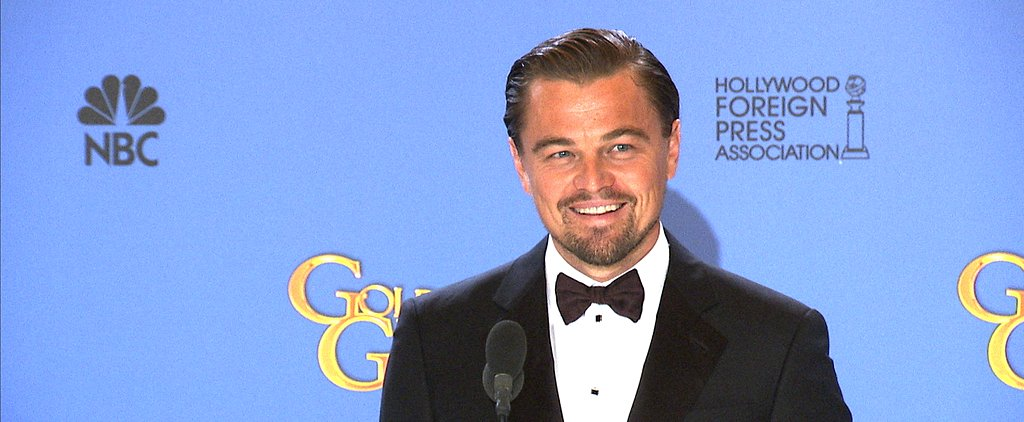 Want More Leo at the Globes? Watch His Press Room Interview