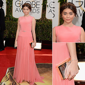 Sarah Hyland 2014 Golden Globes Dress