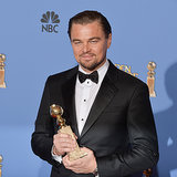 Leonardo DiCaprio in Golden Globes Press Room 2014